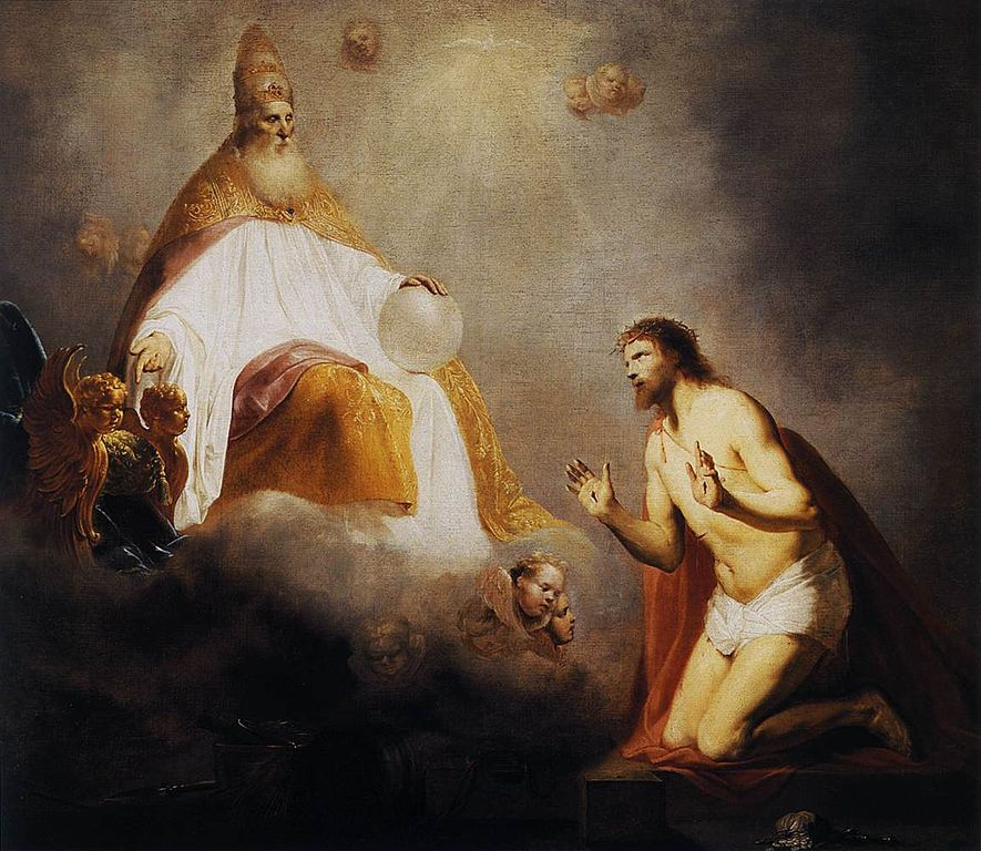 885px-De_Grebber-God_Inviting_Christ_to_Sit_on_the_Throne_at_His_Right_Hand